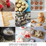 Super Easy 5 Ingredients or Less Dessert Recipes