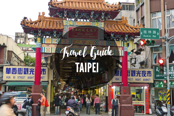 travel guides taipei taiwan