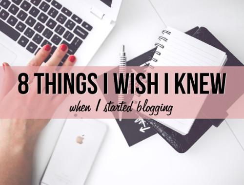 thing-i-wish-i-knew-blogging
