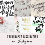 My Favourite Typography Inspiration on Instagram