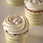 Vanilla Cupcakes with Vanilla Buttercream Icing