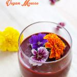 Choc Raspberry Vegan Mousse