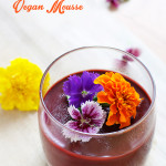 Choc Raspberry Vegan Mousse