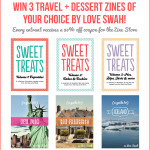 WIN 3 copies of my travel + dessert zines!
