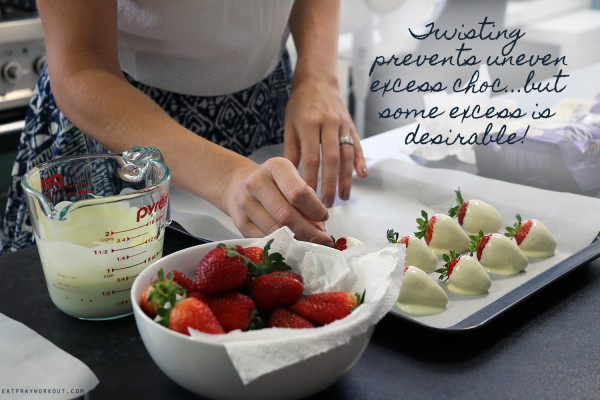 4.secrets to chocolate strawberries excess