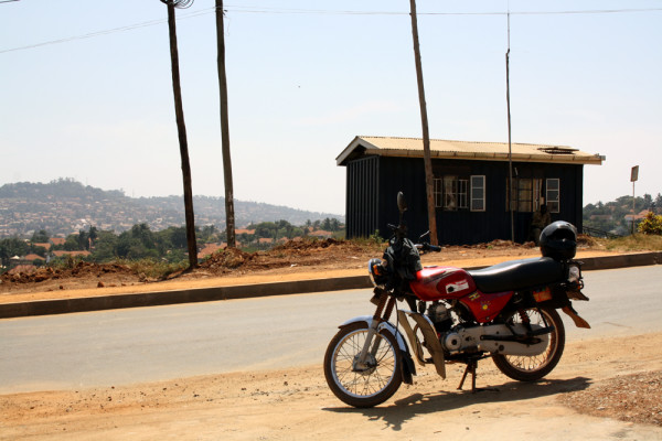 Bike in Kampala, Uganda