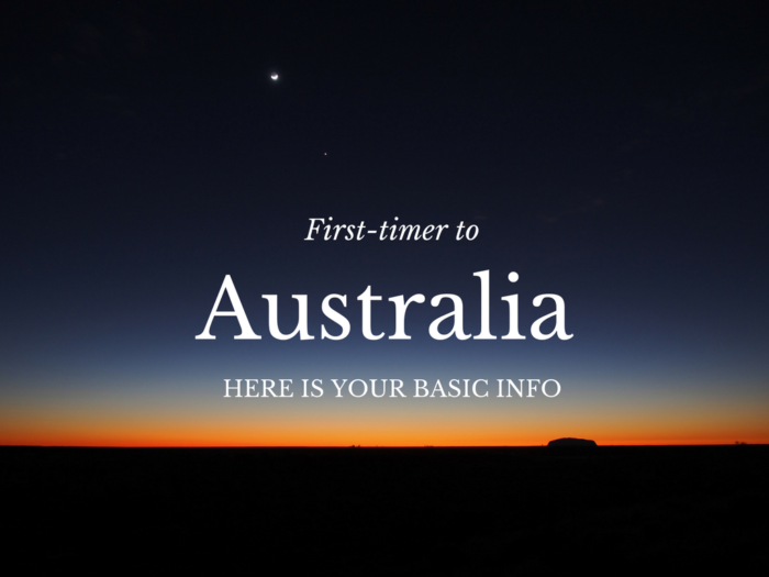 First-timer to Australia? Here is Your Basic Info - Love Swah
