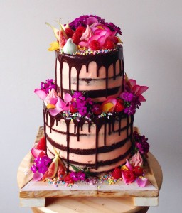 Katherine Sabbath Double Chocolate Brownie Cake Filled