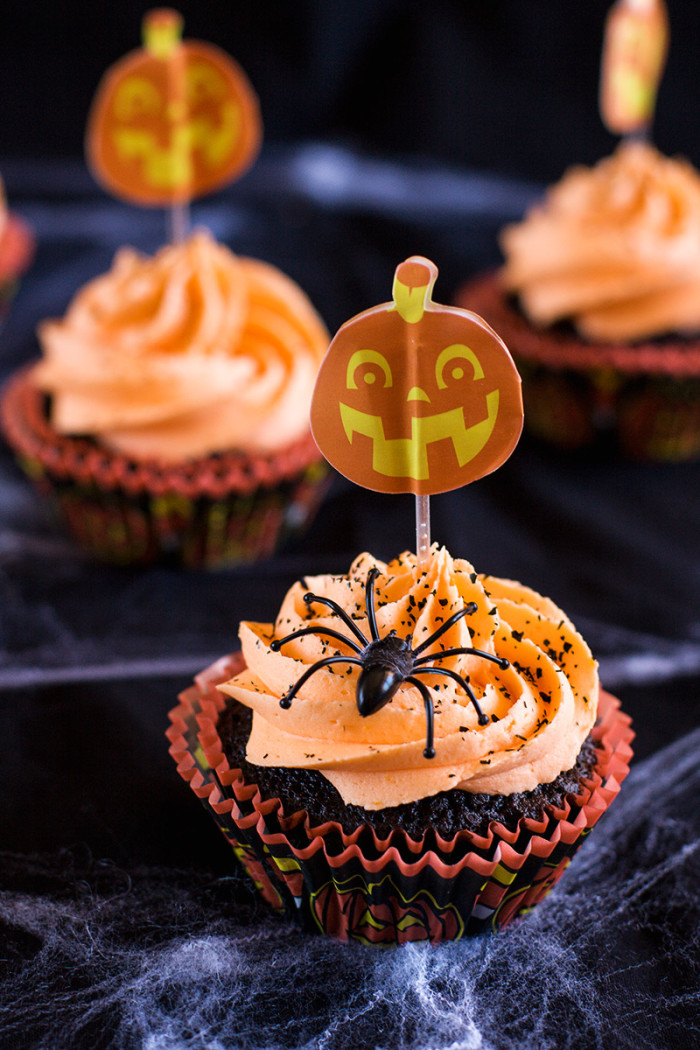 chocolate-orange-halloween-cupcakes1