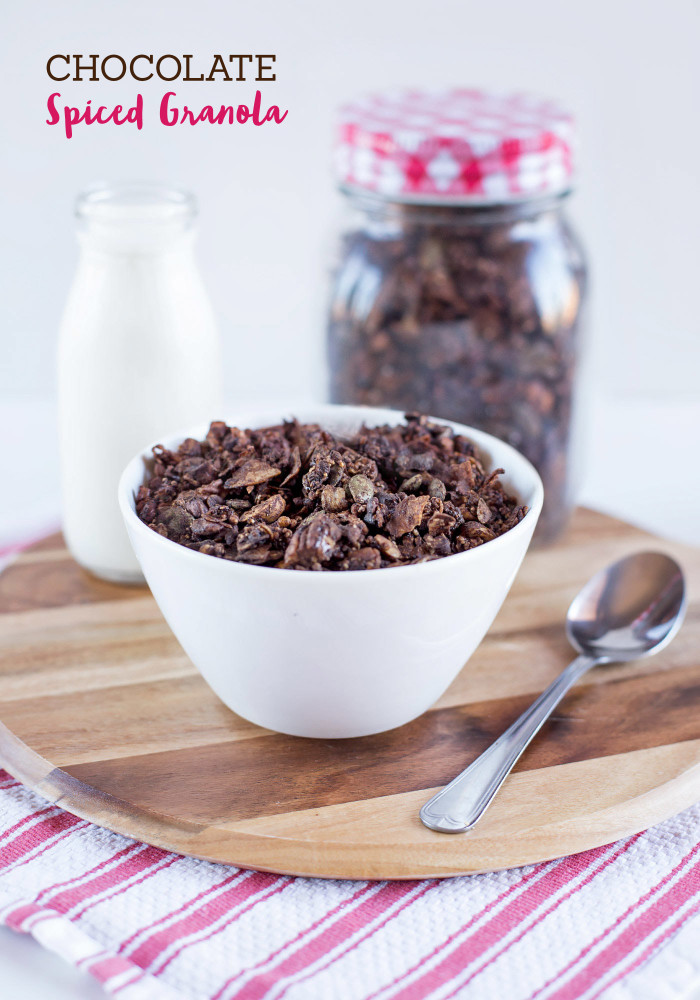 Chocolate Spiced Granola