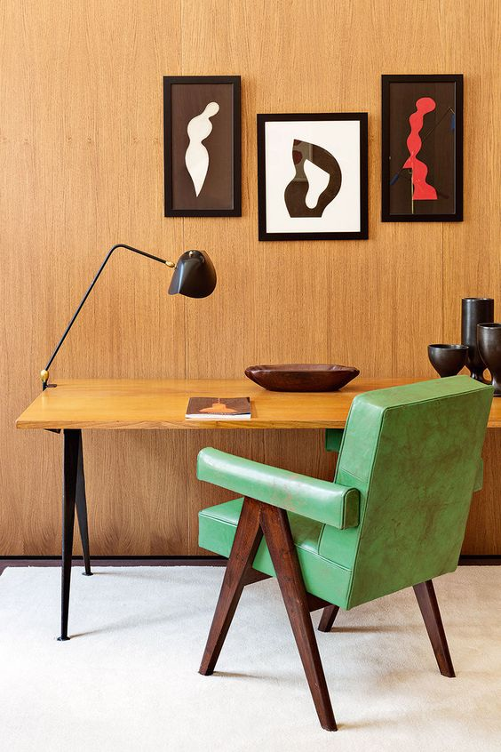 green-chair