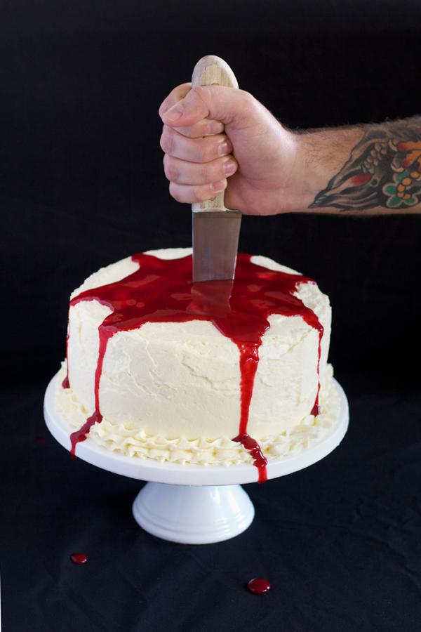 Bloody Red Velvet Cake Recipe