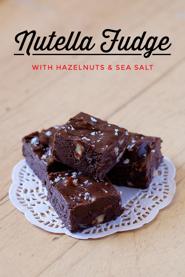 Nutella Fudge